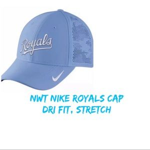 845ccc08 🆕 Nike Kansas City Royals Drifit Stretch Cap/Hat NWT